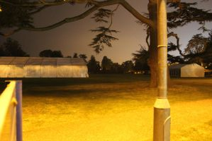 Nighttime Park by lifeforceinsoul