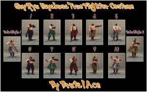 Ryu Hayabusa True Fighter SF4AE Colors by BrutalAce