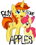 Buy Some Apples by McWolfity