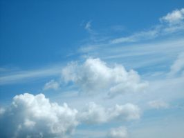 From Below - Clouds 7. by MystStock