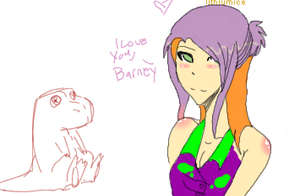 Barney Lover by lithiumharddrive