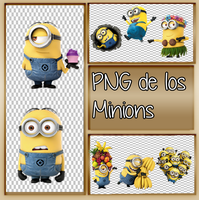 Pack PNG de los  Minions  By Giulitinistaeditition by GiuliiEdiitiions