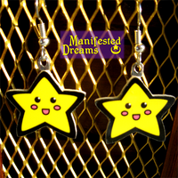 Star Earrings by ManifestedDreams