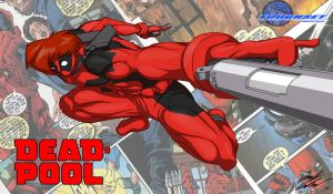 Stryder as Deadpool by Toughset