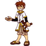 Nixso Kingdom Hearts Style by MousieDoodles