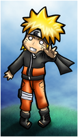 Naruto Chibi Coloured by Ironcid