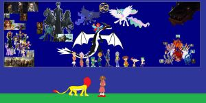 Thumbelina A Magical Tale- Prologue to the NESWAT2 by Dragonfire92379