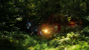 Luxray in the forest! by AussiePixel