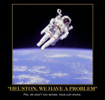 space demotivational poster by Weirddudeguy