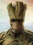 Groot by An9reyART
