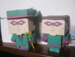 Cubeecraft of the Riddler by RatedrCarlos