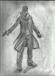 Watch_Dogs: Aiden Pearce Figurine Study by Imp0s5ible
