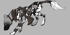 Methyean Thylacine by bluedrgnMethy