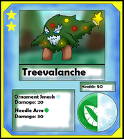 Treavalanche Card (Adopt) by Dianamond