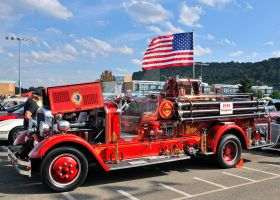 1935 Seagrave Fire Truck by Theriom-Rasputin