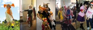 All my cosplays until now by TellitaMS