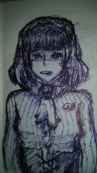 emo girl by LOUSY-1001-0100