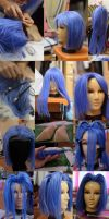 James wig tutorial by KyoudaiCosband