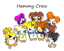 Hammy Crew by turtwigturt