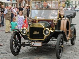 Ford Model T by OliverBPhotography