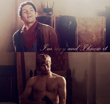 Merlin - Sexy and I know it by SatelliteAlice