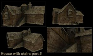 House with stairs part.5 by DennisH2010