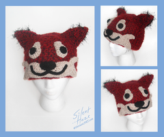 Shinta - Crochet Hat Commission by Silent--Haze
