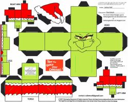 JC 2: The Grinch Cubee by TheFlyingDachshund