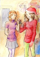 X-Mas Drawing 2 Kimi ni Todoke by susu-chan