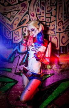 Harley Quinn Cosplay - Suicide Squad by Nakatsukuni