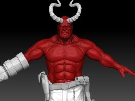 hellboy again, and again, by detachfromtheoutcome