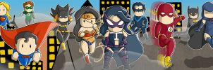 DC Universe by AmbrosiaRaeDesigns