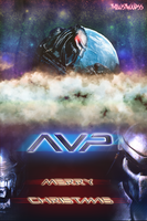 AVP winter card by thelostwoodss