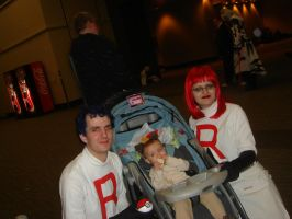 Team Rocket... The Family by AnimeOCD1323