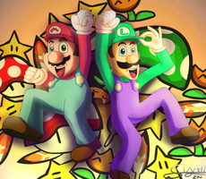 Super Mario Brothers by Skytch