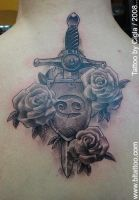 Sword with rosses by cigla