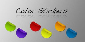 Color Stickers by MacTinus