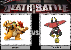 Bowser vs Tapu Bulu
