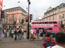 Piccadilly Circus Summer Rush Hour 2014 by ChristianPrime1-Bot