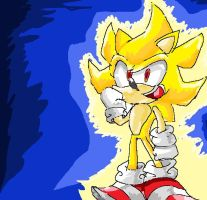 :super sonic: by supermarioguy