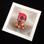 Deadpool and Chimichangas by Michelle Coffee by misscoffee