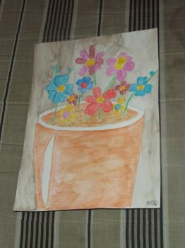 flower pot by oddkh1