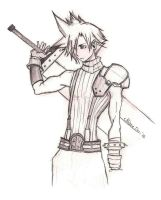 Cloud Strife by kiwing38