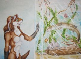OMG Otter by forensicfox