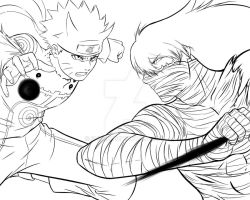 Naruto and Ichigo by Shight