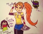 Fangirls vs April with Donnie by TMNTbyEllSmyth