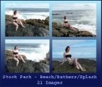 Stock Pack - Beach Bathers by Gracies-Stock