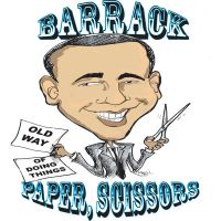 Barack paper scissors by sketchoo