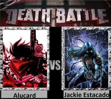 DEATH BATTLE 1: Alucard vs Jackie Estacado by CannedMadMan66