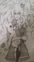 The Queen of Despair and Her Puppeter by Asychoxic